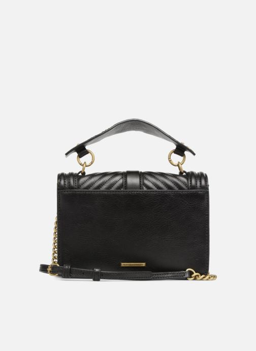 Bolsos de mano Rebecca Minkoff Small Love Crossbody Negro vista de frente