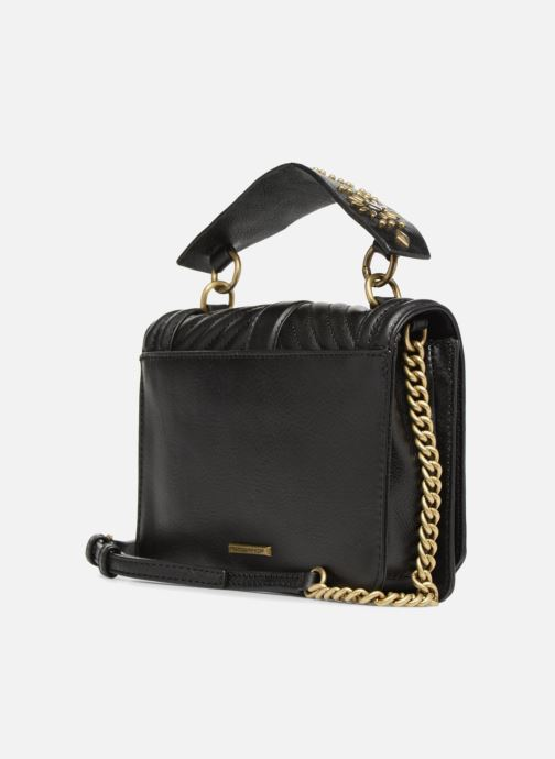 Bolsos de mano Rebecca Minkoff Small Love Crossbody Negro vista lateral derecha