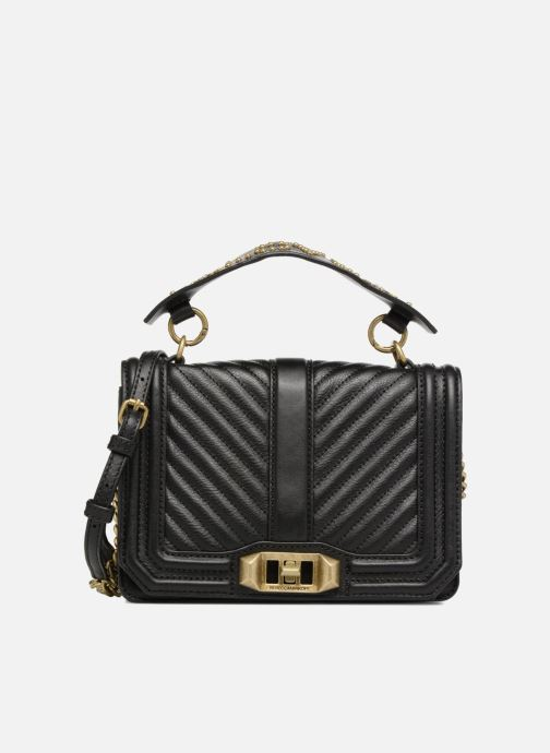 Handtassen Rebecca Minkoff Small Love Crossbody Zwart detail