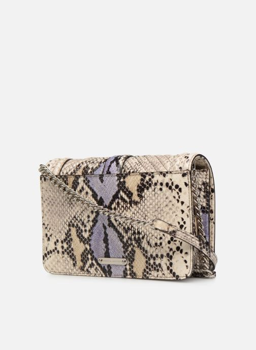 Sacs à main Rebecca Minkoff Small Love Crossbody Beige vue droite