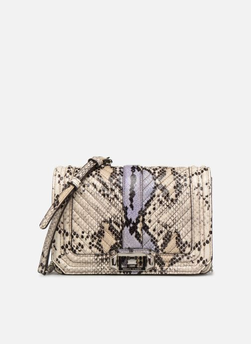 Sacs à main Rebecca Minkoff Small Love Crossbody Beige vue détail/paire