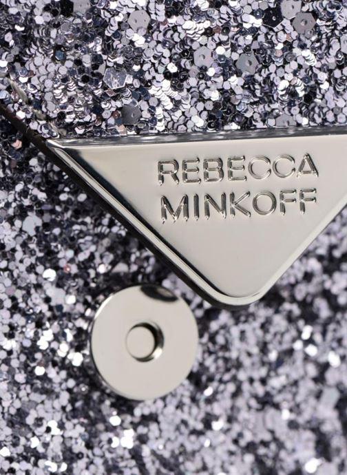 Bolsos de mano Rebecca Minkoff Molly Crossbody Plateado vista lateral izquierda