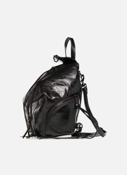 Rucksäcke Rebecca Minkoff Convertible Mini Julian Backpack schwarz schuhe getragen