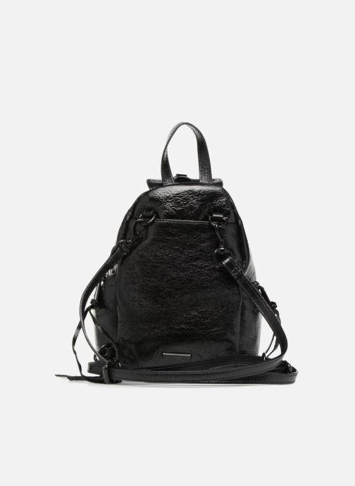 Rucksäcke Rebecca Minkoff Convertible Mini Julian Backpack schwarz ansicht von vorne