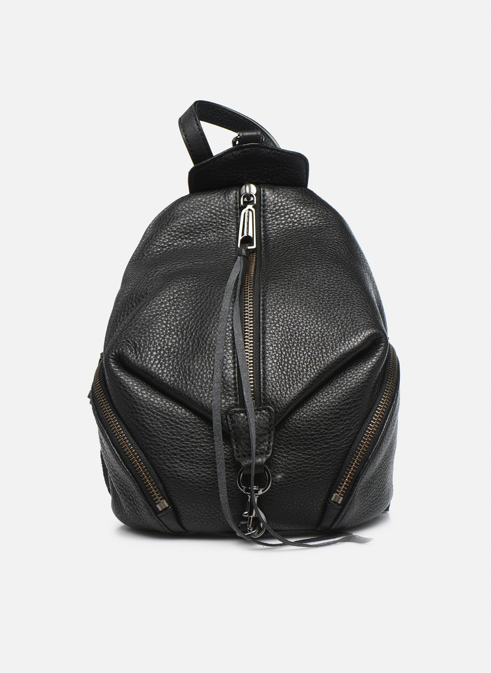 Rugzakken Rebecca Minkoff Convertible Mini Julian Backpack Zwart detail