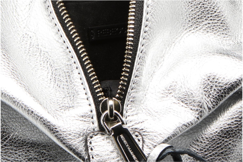 Rugzakken Rebecca Minkoff Convertible Mini Julian Backpack Zilver achterkant