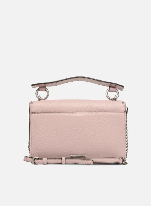 Sacs à main Rebecca Minkoff Darren Top Handle Flap Xbody Rose vue face