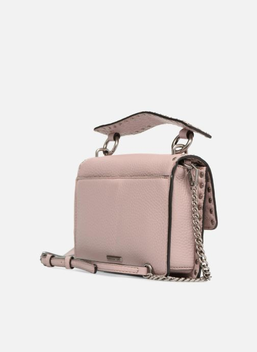 Sacs à main Rebecca Minkoff Darren Top Handle Flap Xbody Rose vue droite