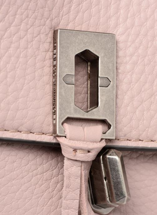 Bolsos de mano Rebecca Minkoff Darren Top Handle Flap Xbody Rosa vista lateral izquierda