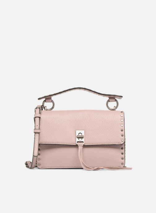 Sacs à main Rebecca Minkoff Darren Top Handle Flap Xbody Rose vue détail/paire