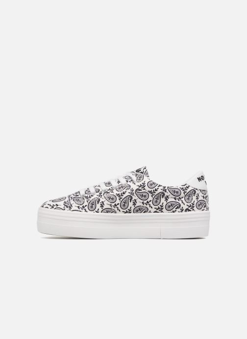 Baskets No Name Plato Sneaker Bandana Blanc vue face