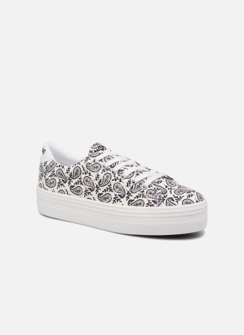 Baskets No Name Plato Sneaker Bandana Blanc vue détail/paire