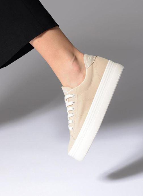 Baskets No Name Plato Sneaker Palavais Beige vue bas / vue portée sac