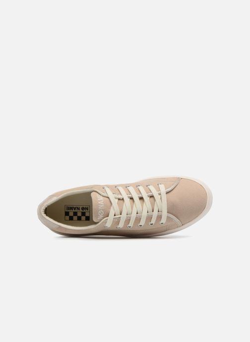 Baskets No Name Plato Sneaker Palavais Beige vue gauche