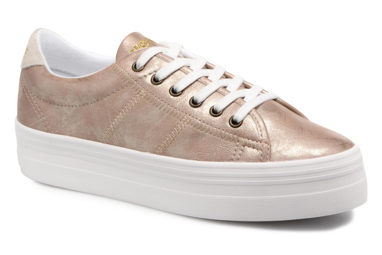 No Name Plato Sneaker After (Rose) - Baskets en Más cómodo Mode pas cher et belle