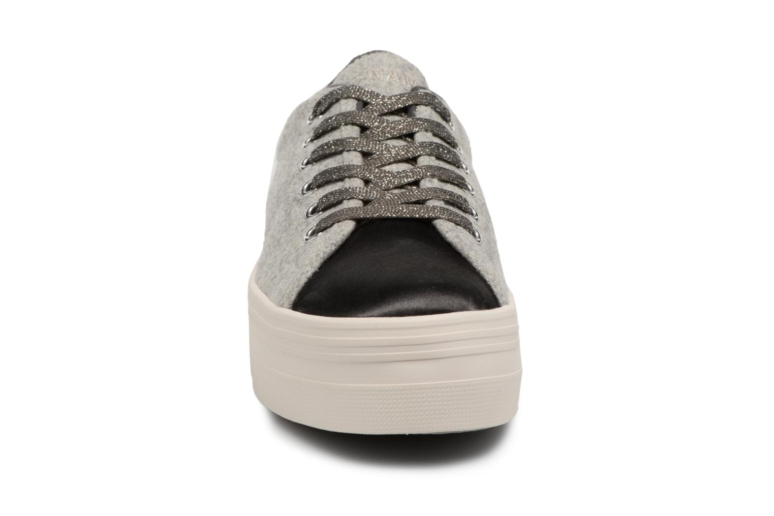 Sneakers No Name Plato Sneaker Beam/Cotton Rib Grijs model