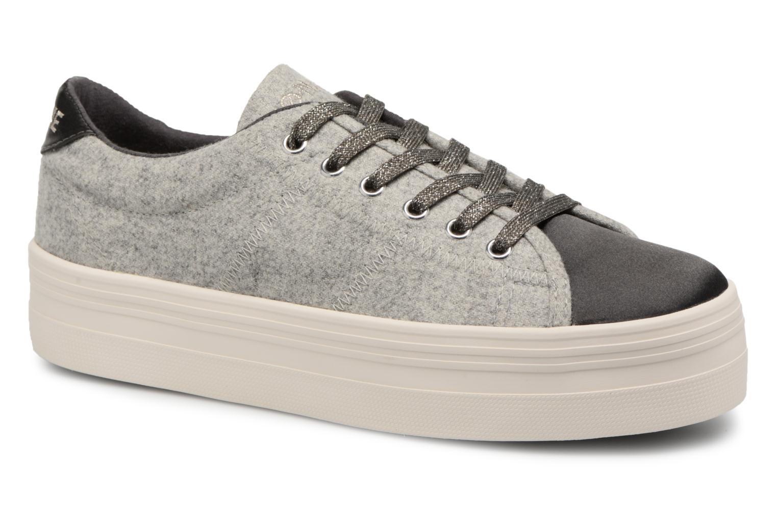 Sneakers No Name Plato Sneaker Beam/Cotton Rib Grijs detail