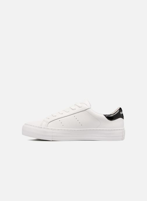Sneakers No Name Arcade Sneaker Nappa Wit voorkant