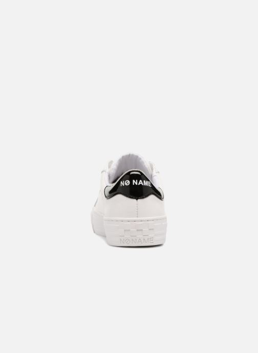 Baskets No Name Arcade Sneaker Nappa Blanc vue droite
