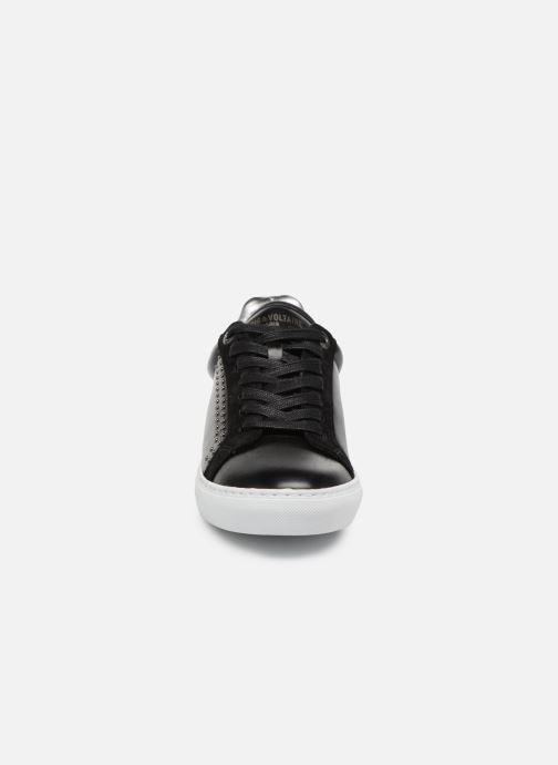 Baskets Zadig & Voltaire ZV1747 Noir vue portées chaussures