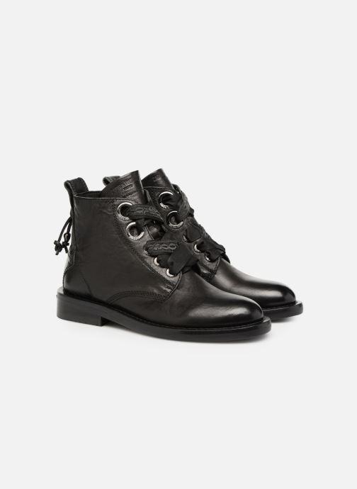 Bottines et boots Zadig & Voltaire Laureen Roma Noir vue 3/4