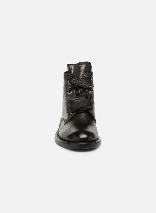 Bottines et boots Zadig & Voltaire Laureen Roma Noir vue portées chaussures
