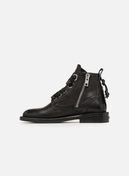 Boots en enkellaarsjes Zadig & Voltaire Laureen Roma Zwart voorkant