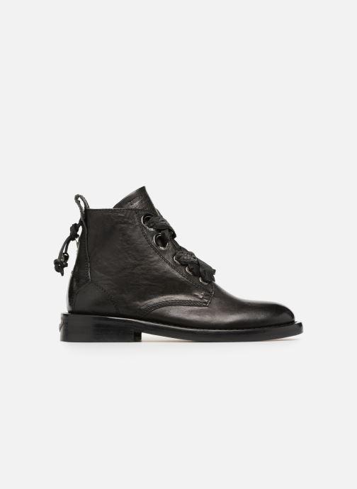 Bottines et boots Zadig & Voltaire Laureen Roma Noir vue derrière