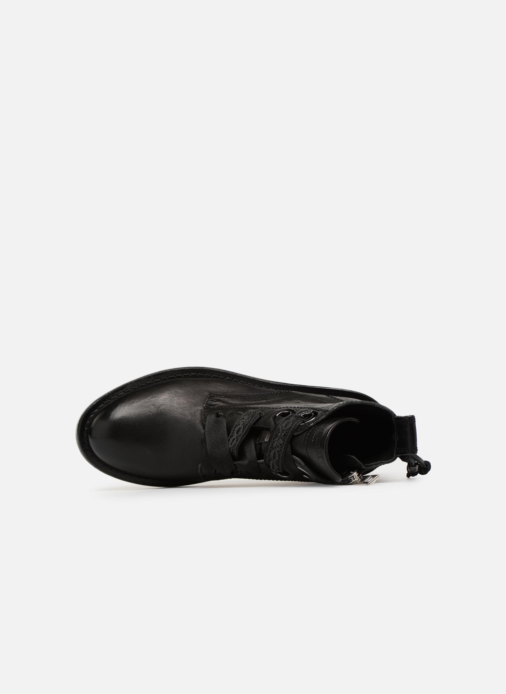 Bottines et boots Zadig & Voltaire Laureen Roma Noir vue gauche