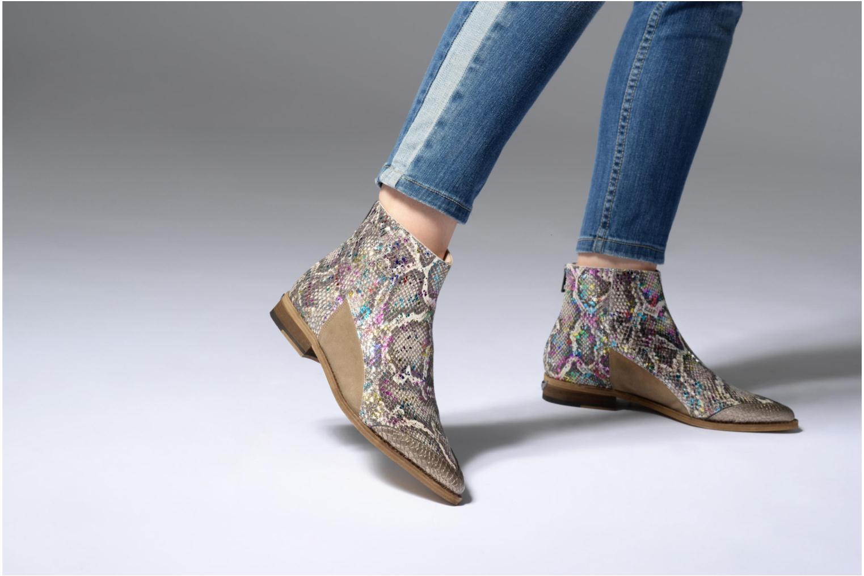Bottines et boots Zadig & Voltaire MODS ECLAT Multicolore vue bas / vue portée sac