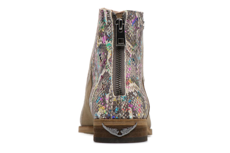 Bottines et boots Zadig & Voltaire MODS ECLAT Multicolore vue droite