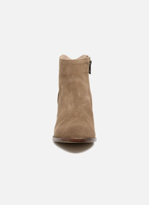 Ankle boots Zadig & Voltaire Molly Suede Beige model view