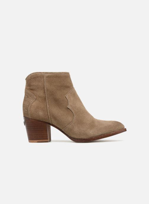 Boots en enkellaarsjes Zadig & Voltaire Molly Suede Beige achterkant