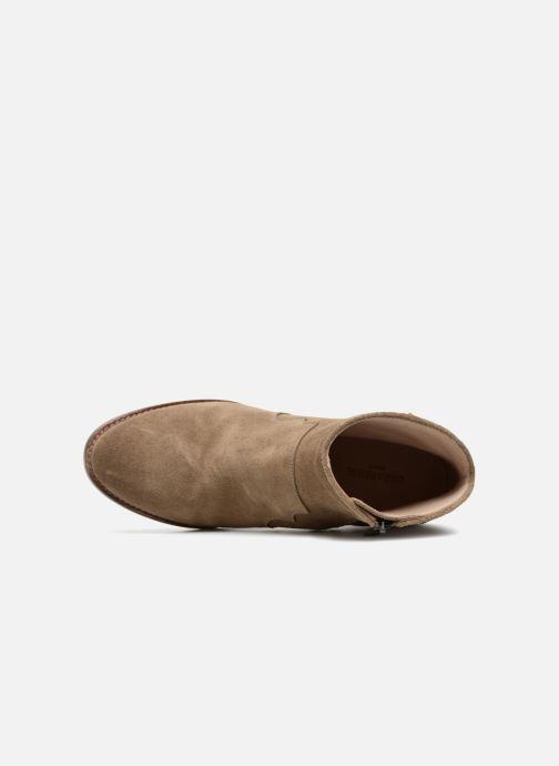 Bottines et boots Zadig & Voltaire Molly Suede Beige vue gauche