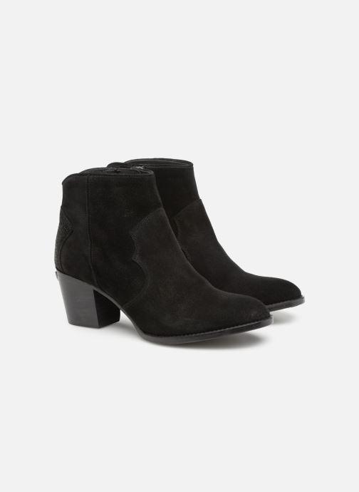 Boots en enkellaarsjes Zadig & Voltaire Molly Suede Zwart 3/4'