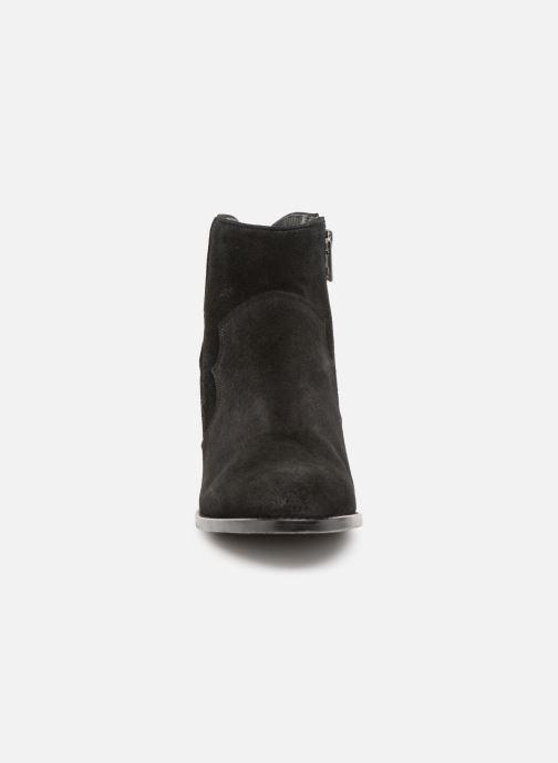 Bottines et boots Zadig & Voltaire Molly Suede Noir vue portées chaussures