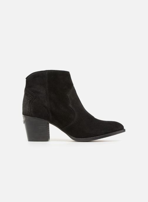 Boots en enkellaarsjes Zadig & Voltaire Molly Suede Zwart achterkant