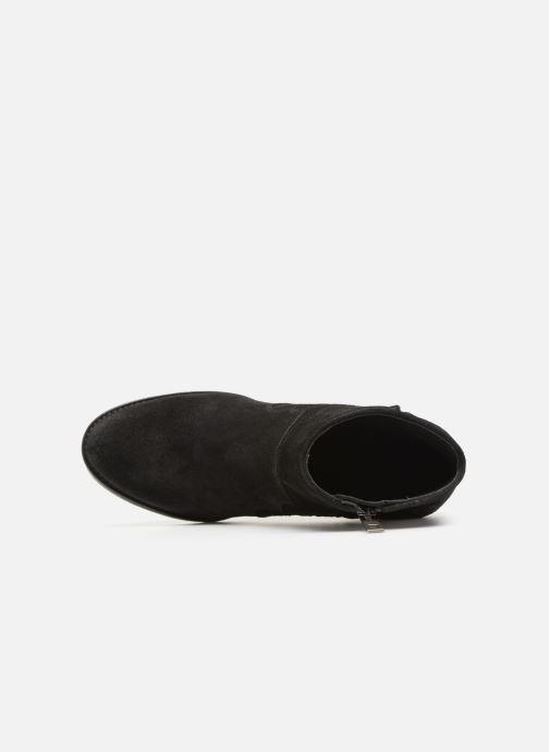 Bottines et boots Zadig & Voltaire Molly Suede Noir vue gauche