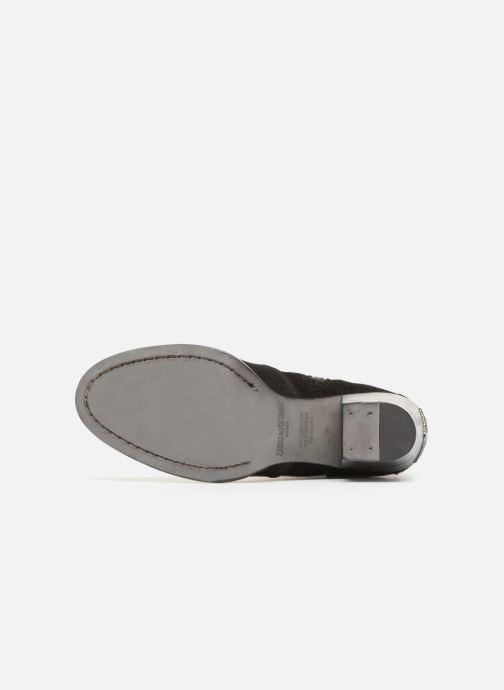 Bottines et boots Zadig & Voltaire Molly Suede Noir vue haut