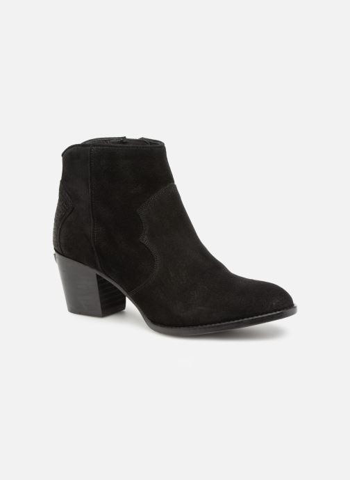 Bottines et boots Zadig & Voltaire Molly Suede Noir vue détail/paire
