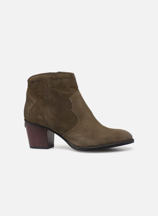 Ankle boots Zadig & Voltaire Molly Suede Green back view