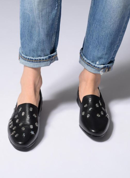 Loafers Zadig & Voltaire MONSIEUR Black view from underneath / model view