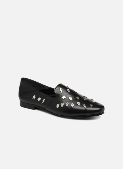 Loafers Zadig & Voltaire MONSIEUR Black detailed view/ Pair view