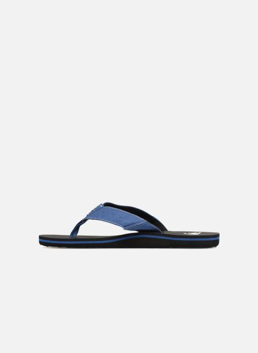 Flip flops Quiksilver Molokai Abyss Blue front view
