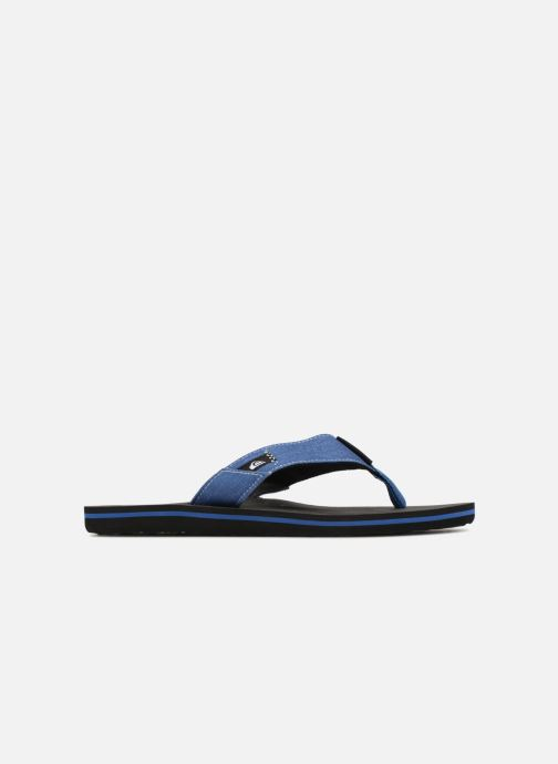 Flip flops Quiksilver Molokai Abyss Blue back view
