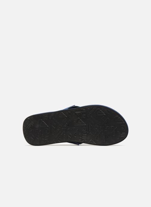 Flip flops Quiksilver Molokai Abyss Blue view from above