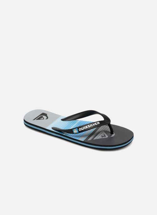 Flip flops Quiksilver Molokai Highline Slab Blue detailed view/ Pair view