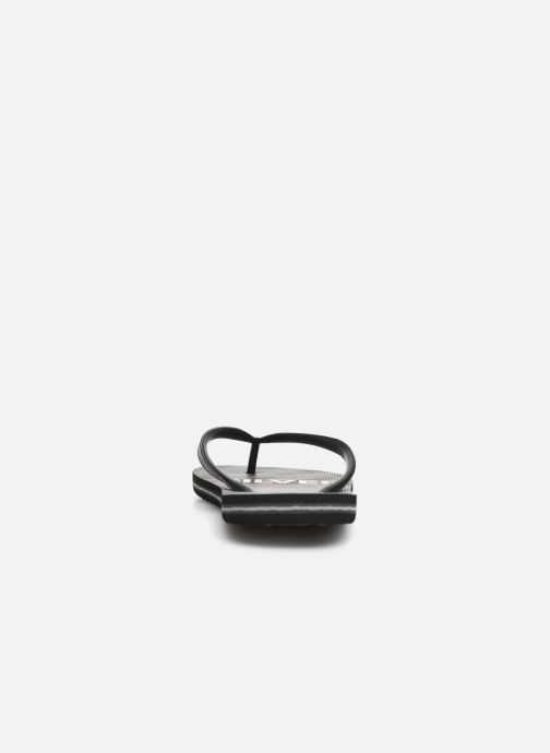 Flip flops Quiksilver Molokai Highline Slab Black view from the right