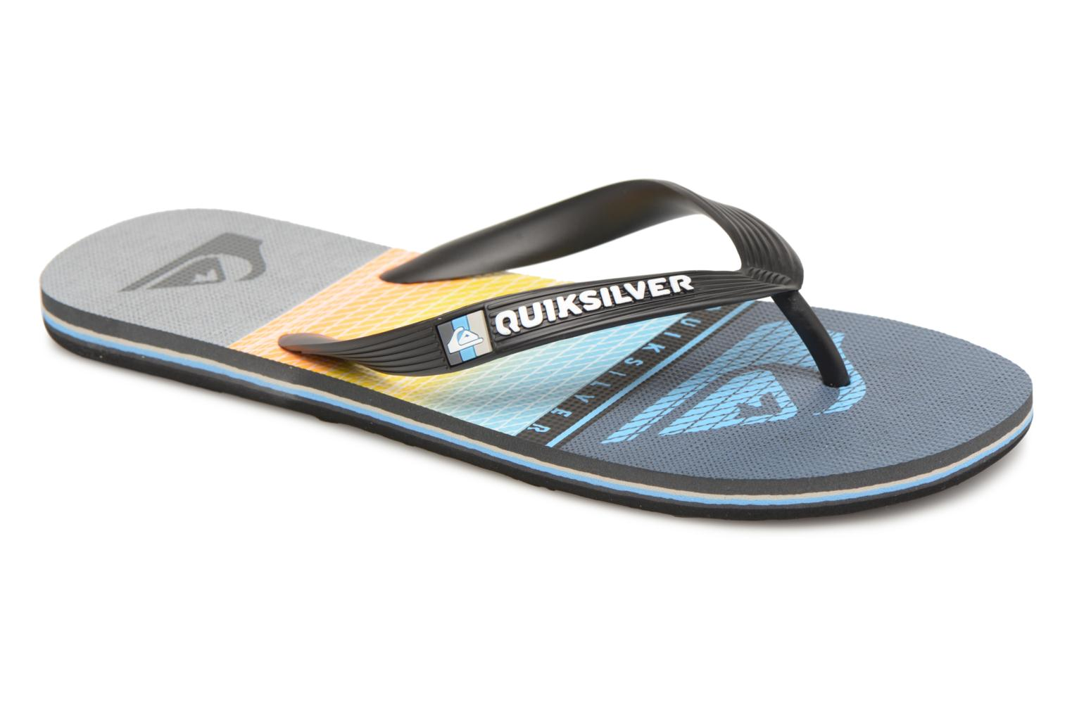 Flip flops Quiksilver Molokai Highline Slab Multicolor detailed view/ Pair view