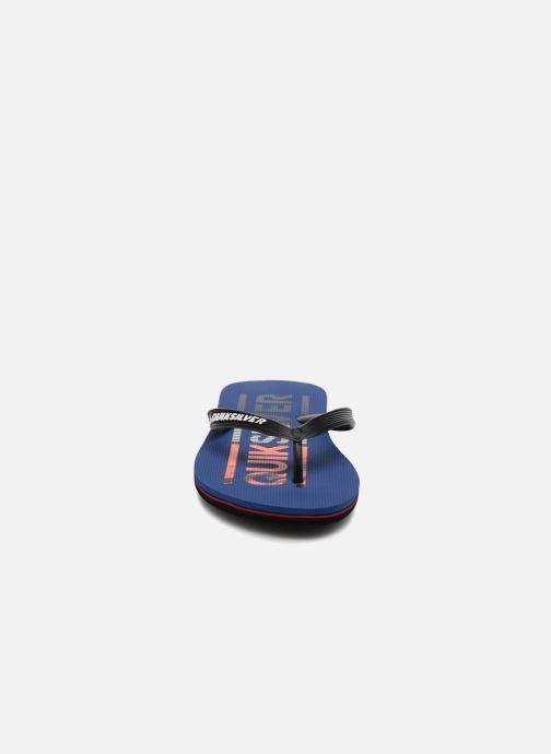 Flip flops Quiksilver Molokai Wordmark Blue model view